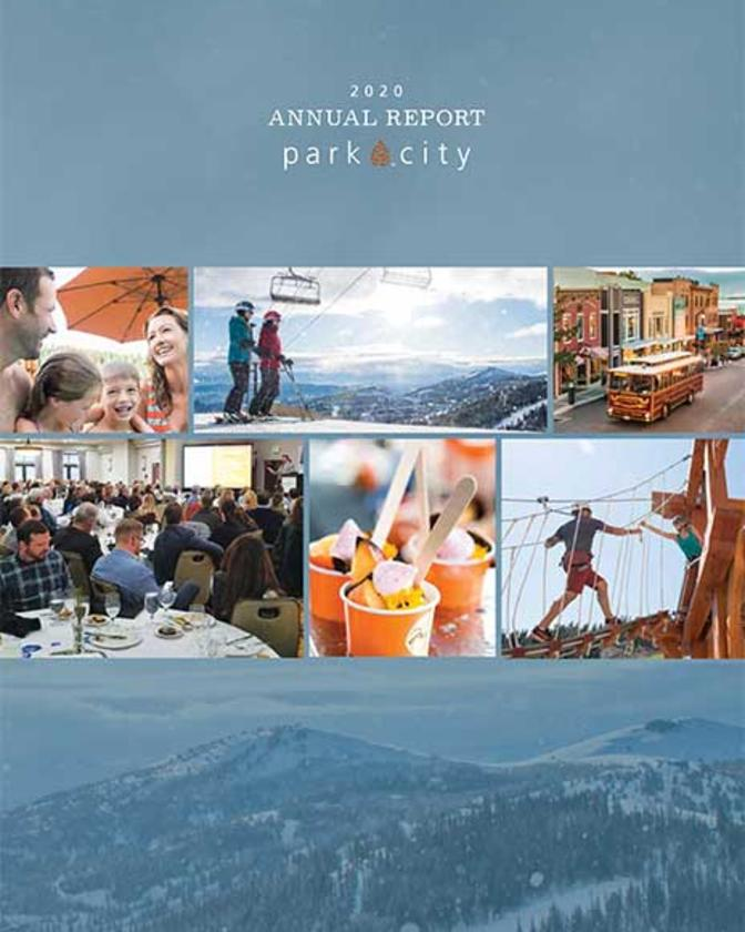 Cover of Park City Chamber 2020 Annual Report