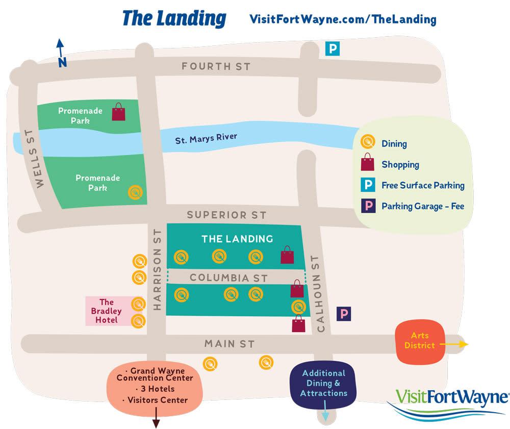 The Landing Map