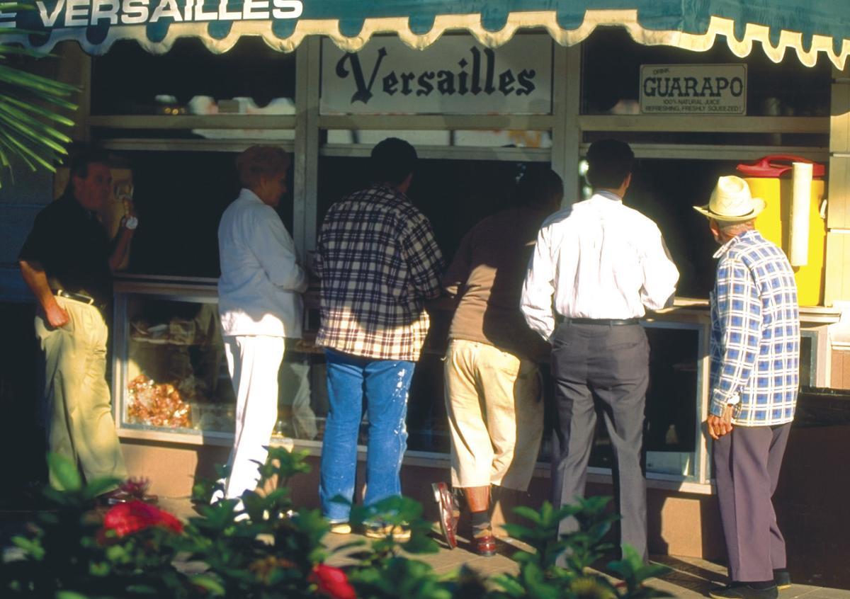 Grab genuine Cuban food at Versailles Restaurant & Bakery in Miami.