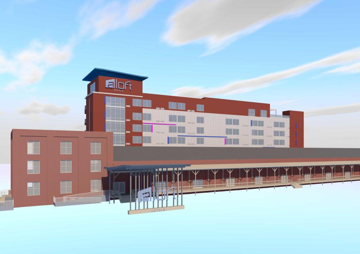 Aloft Hotel Wilmington Rendering