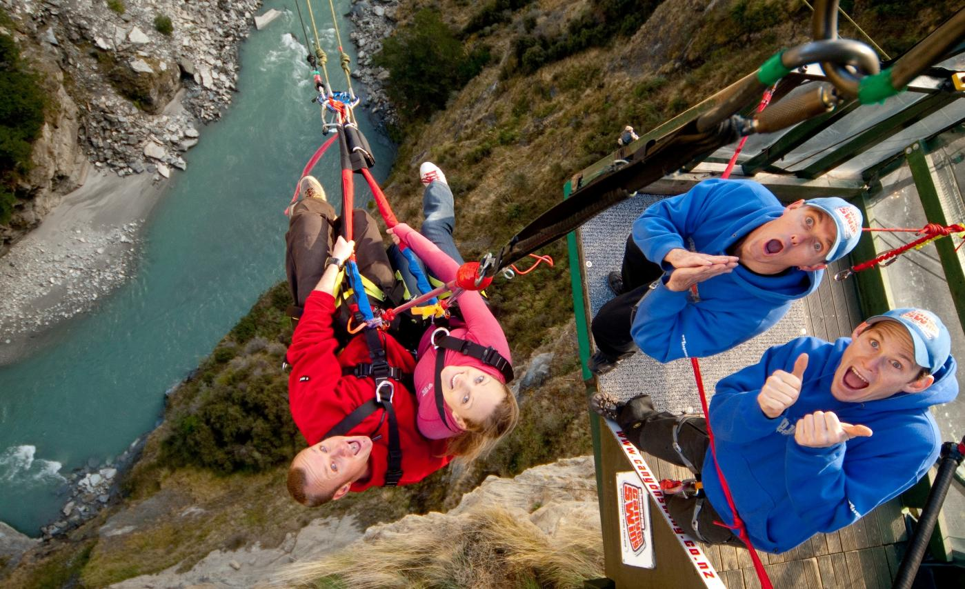 Shotover Canyon Swing tandem couple