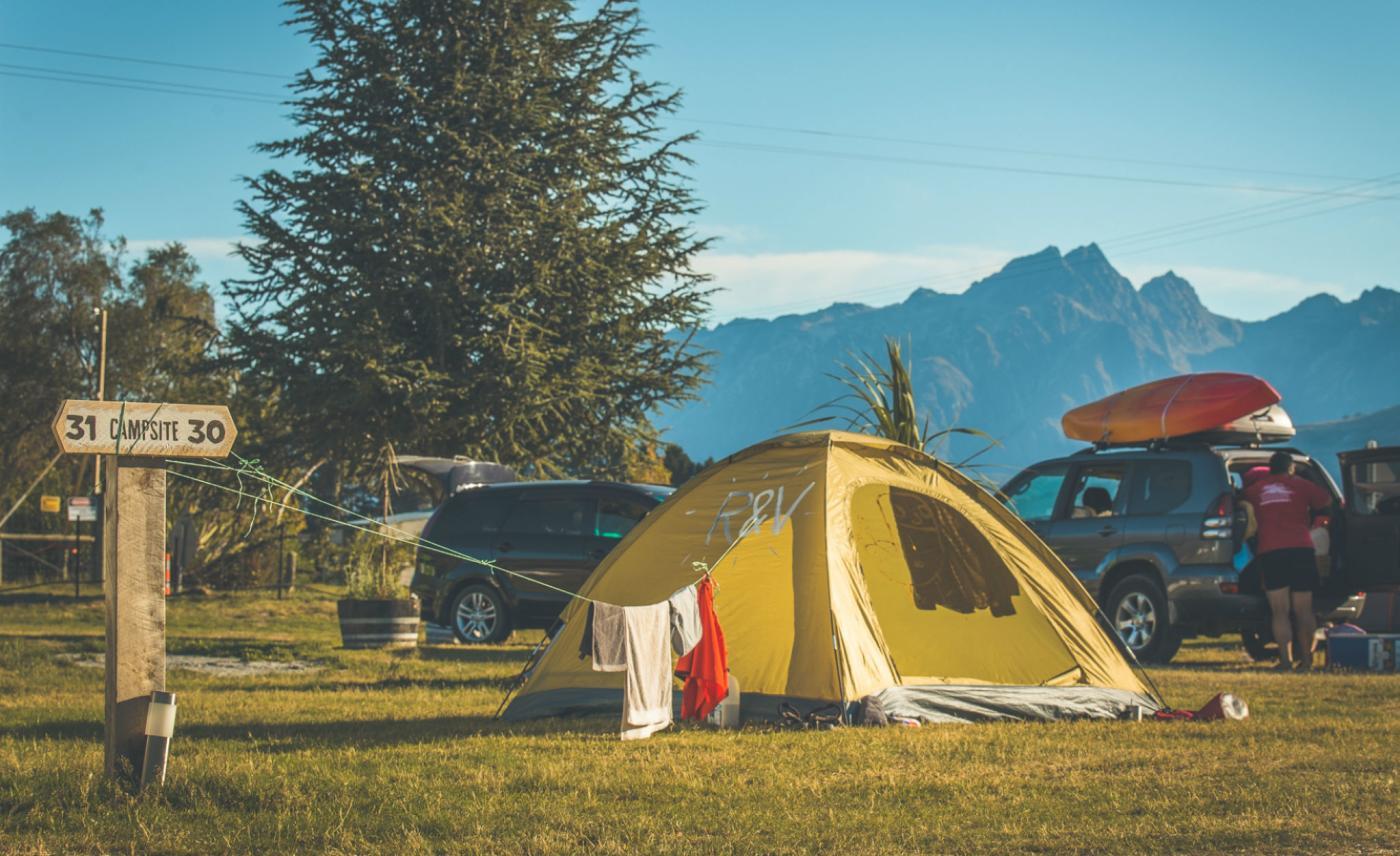 Mrs Woollys Campground, Glenorchy