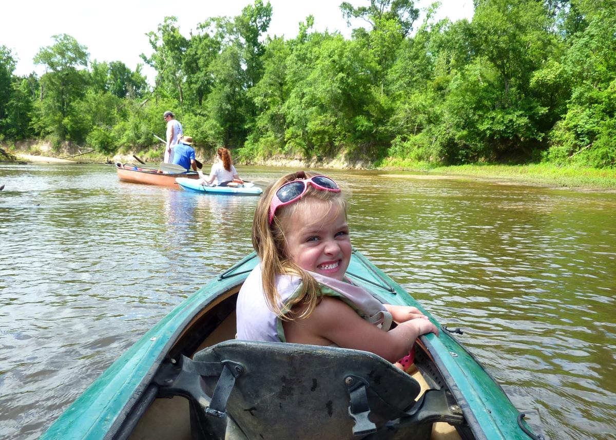 Paddling in Beaumont, TX