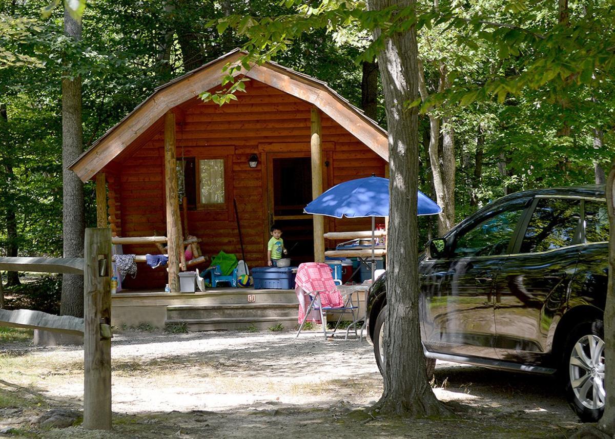 Camping & Cabin Rentals at Pohick Bay Regional Park