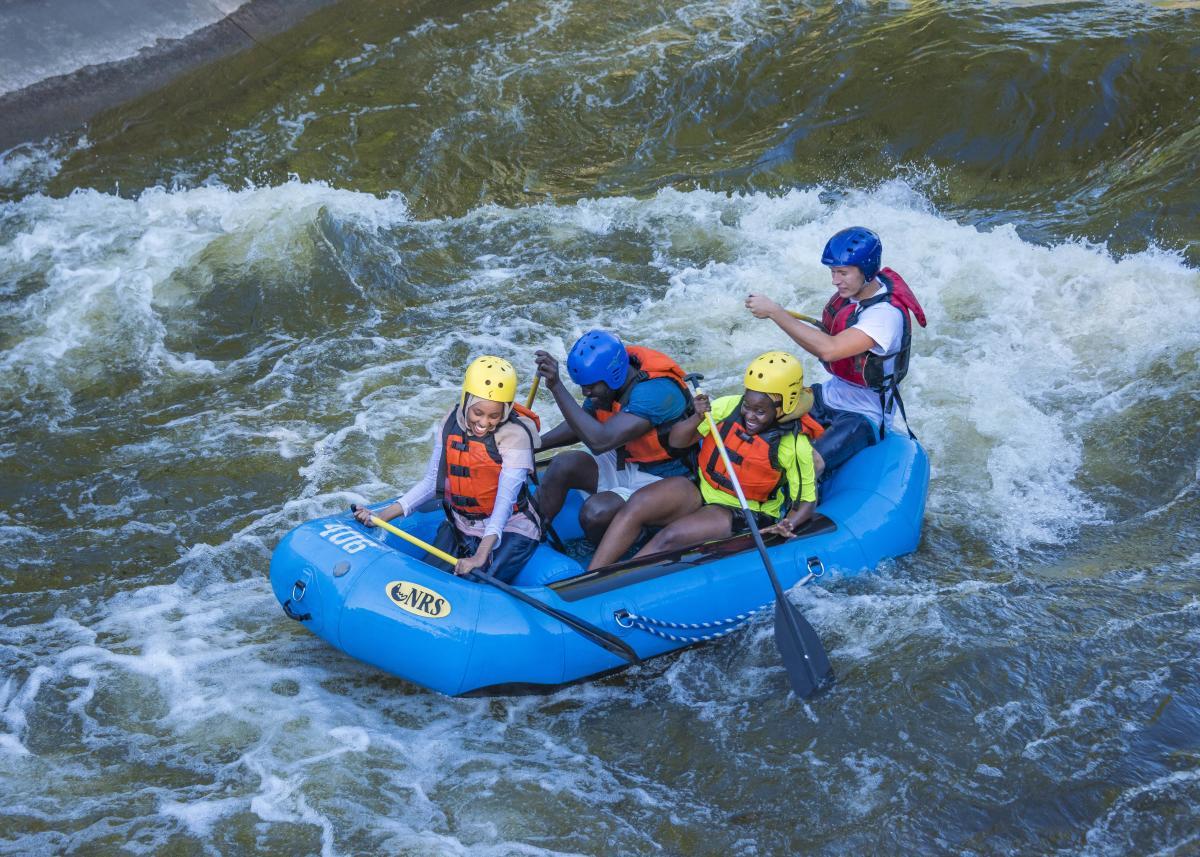 Raft through the City, East Race Waterway