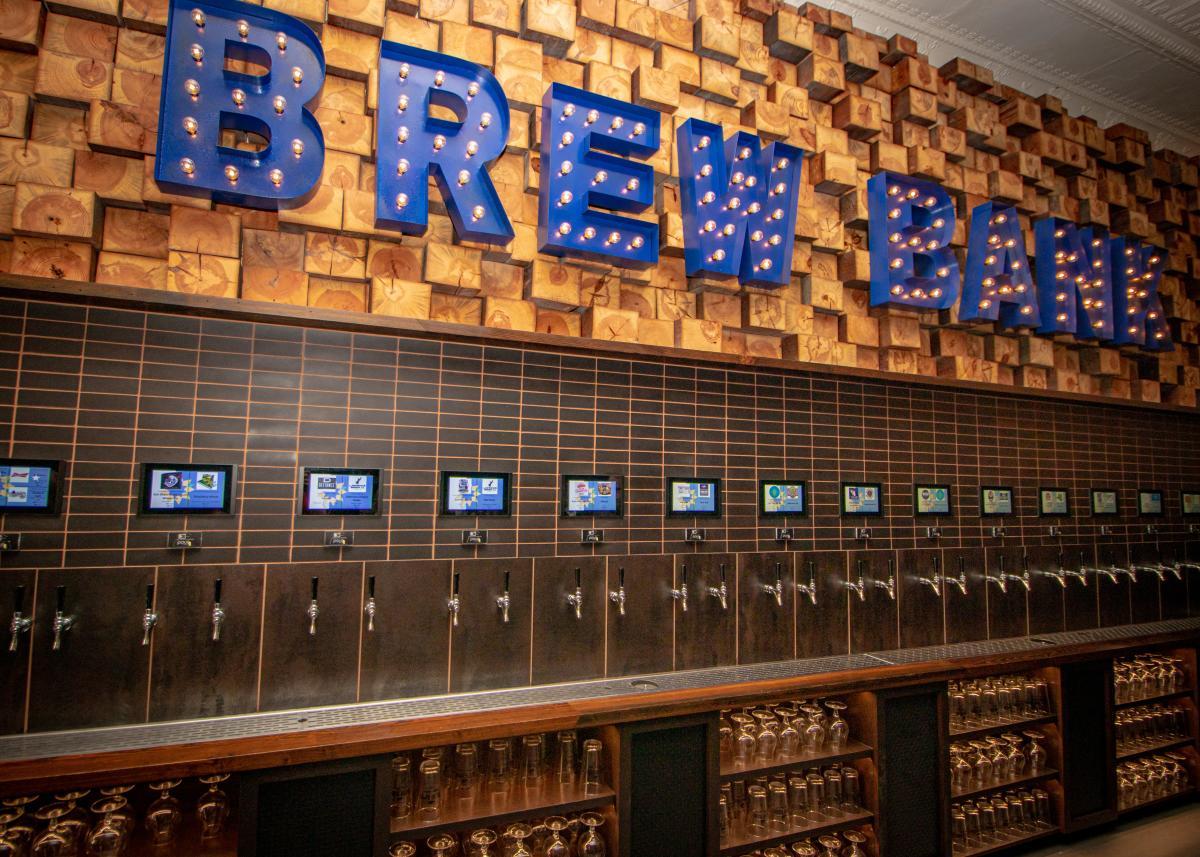 Brew Bank Beer Wall | Downtown Topeka, KS