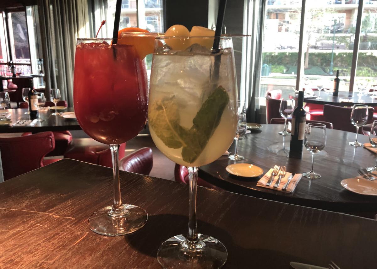 Sangria at Churrascos Happy Hour