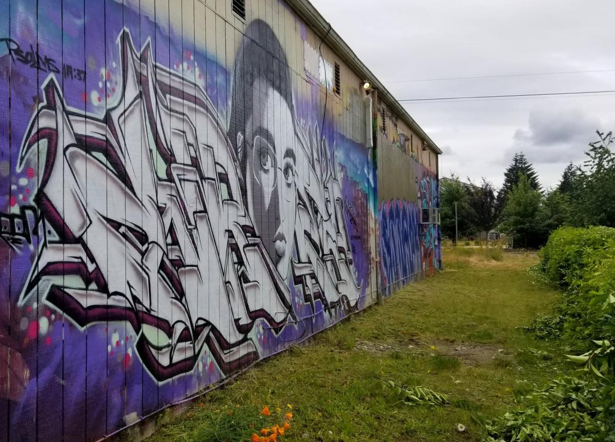 Yelm Graffiti Wall