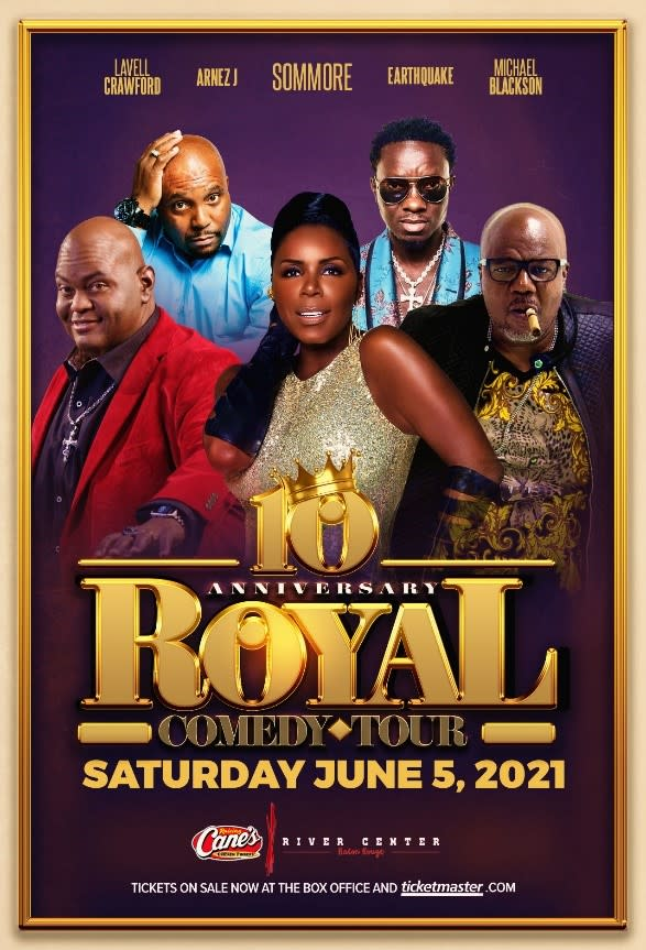 royal comedy tour 2021