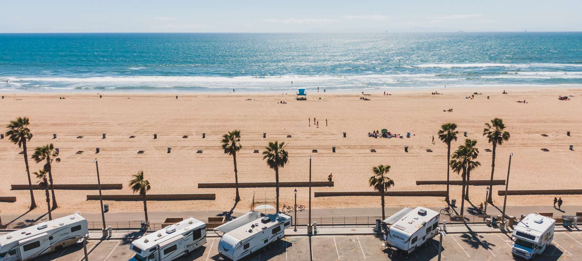 Rv Camping In Huntington Beach Places