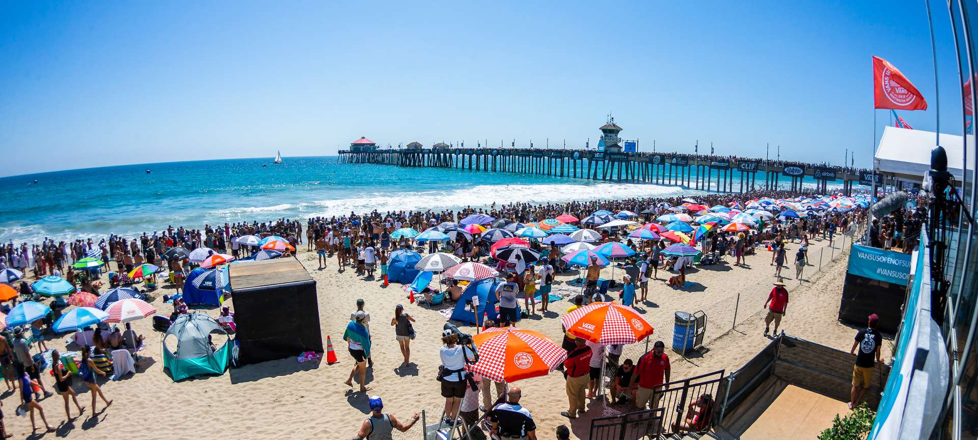 US Open of Surfing in Huntington Beach | July 27, 2019