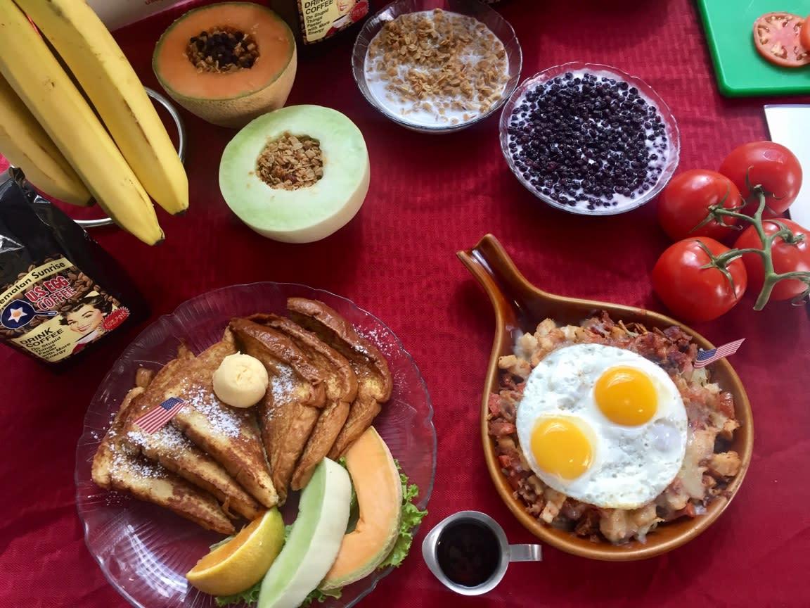Breakfast at U.S. Egg