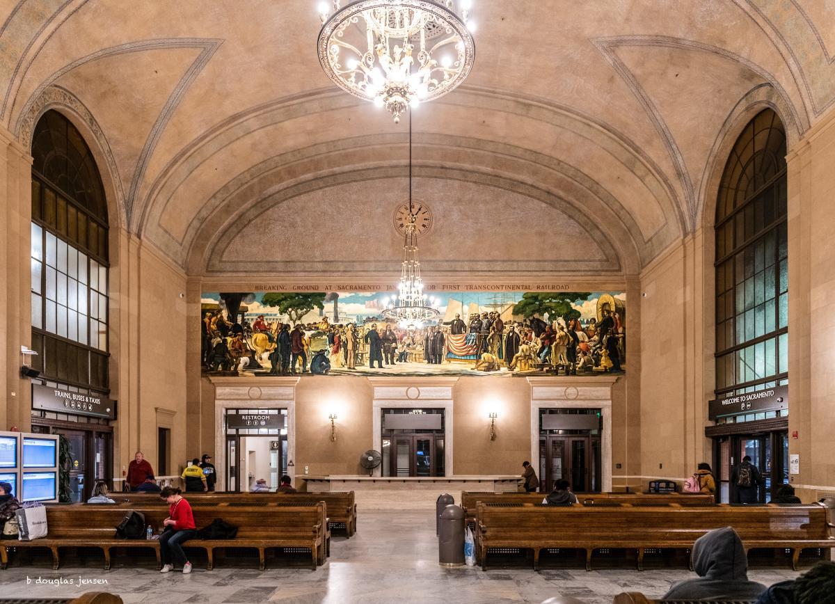 Sacramento Amtrak Station