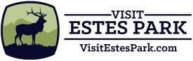 visit estes park logo including URL
