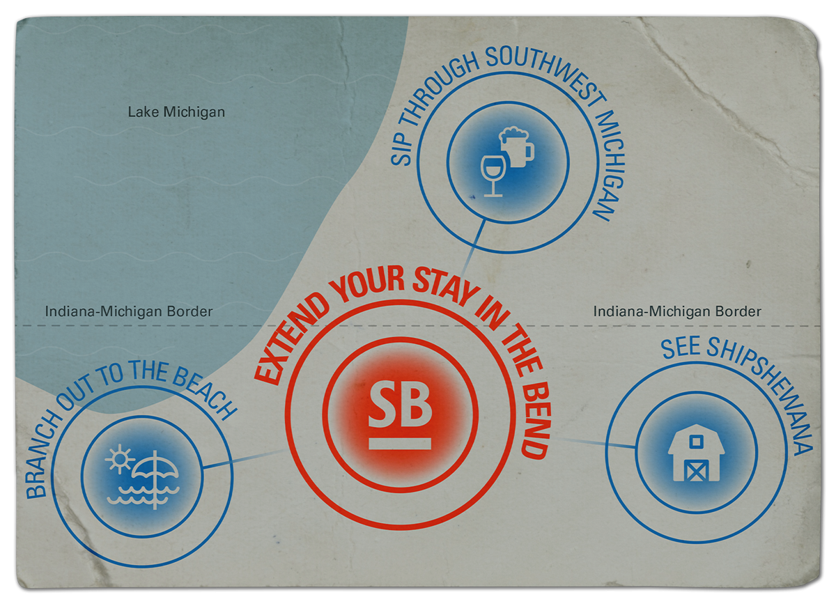 Extend Your Stay in the Bend - Regional Map