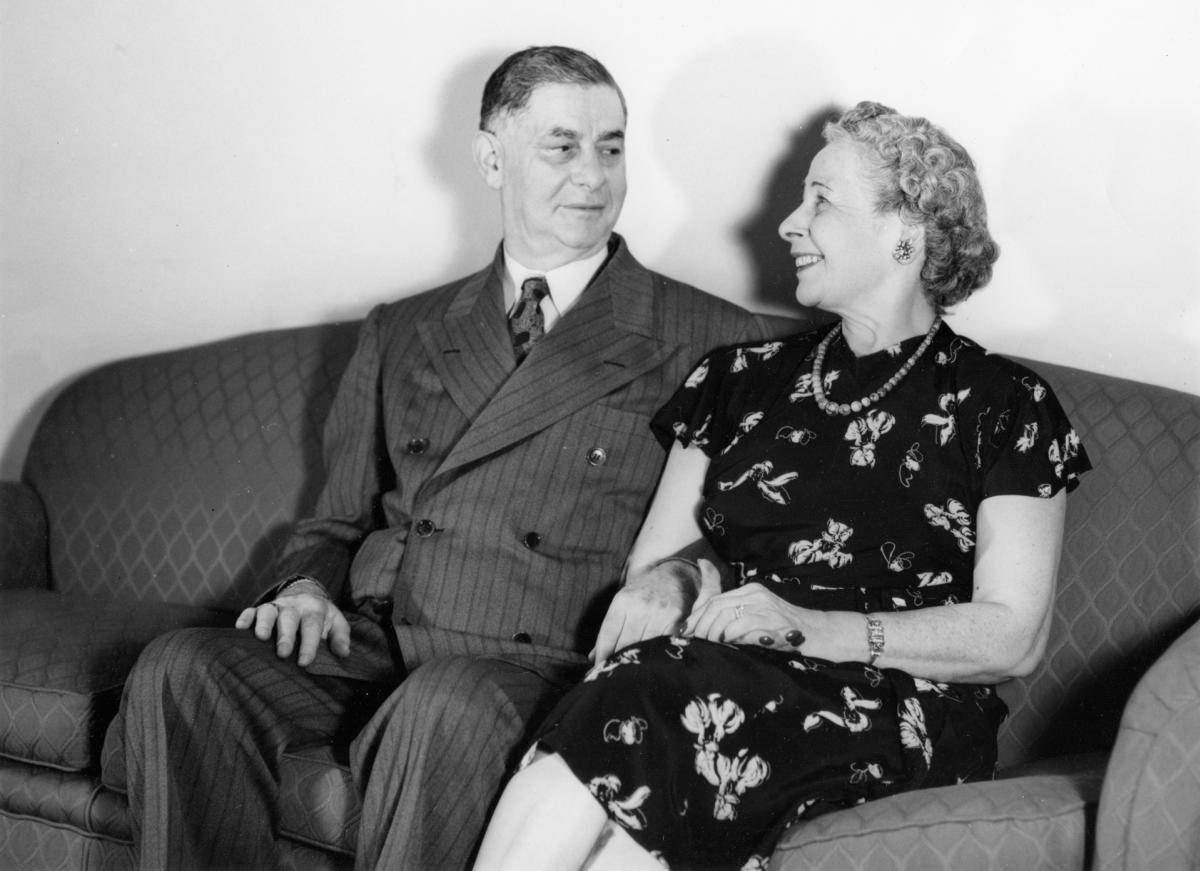 Maurice and Cyma Maisel, New Mexico Magazine