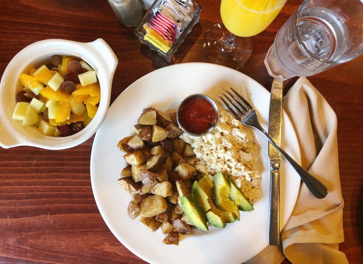1892 Restaurant Breakfast Vegan