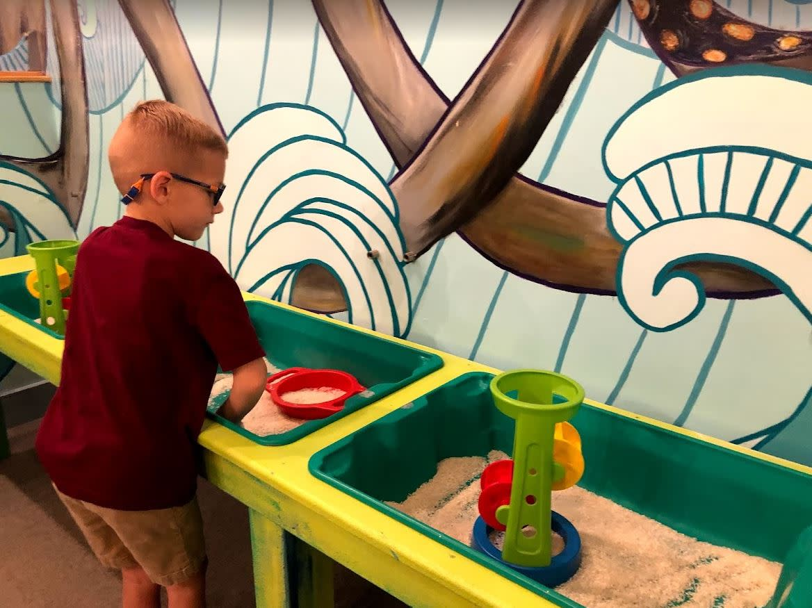 Play area at The Woodlands Children's Museum