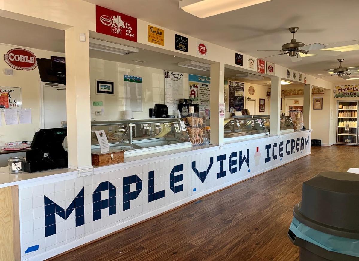 Maple View Ice Cream Store