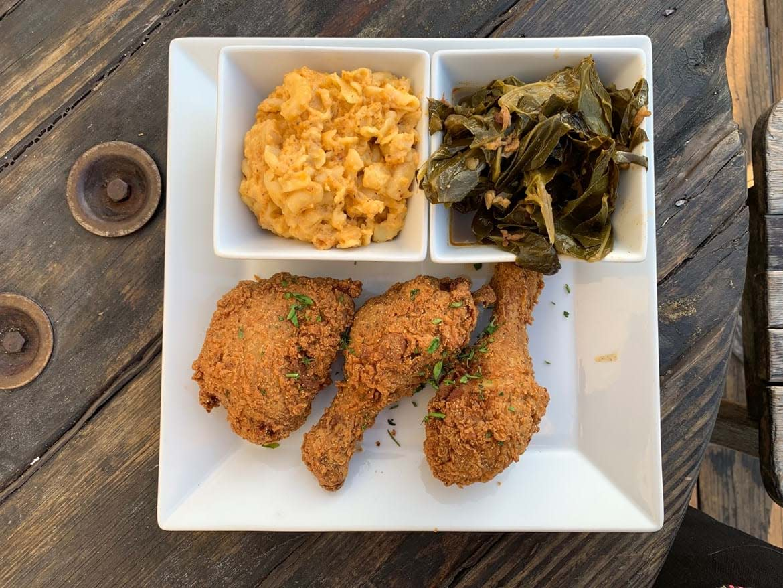 Georgia's fried chicken