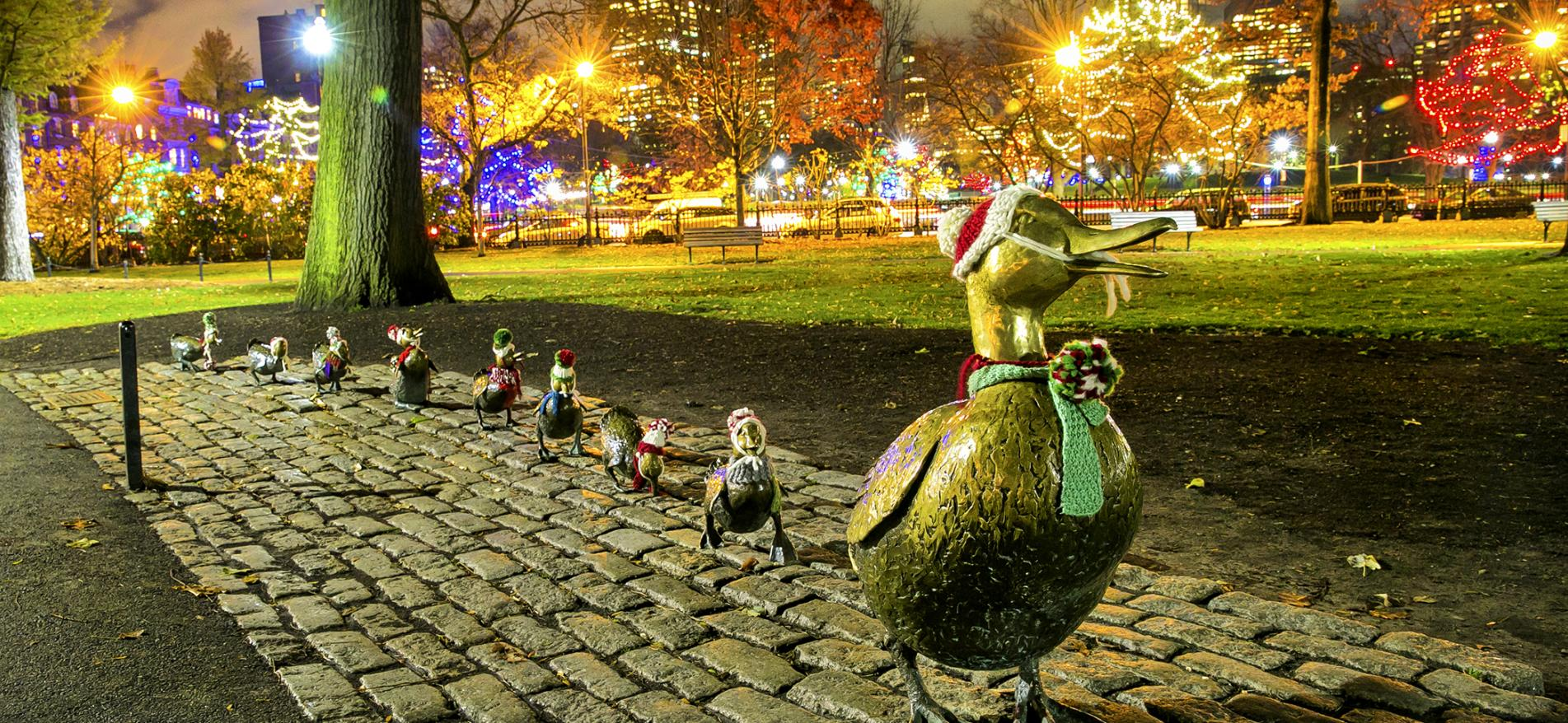Christmas In Boston Images.Boston S Holiday Season Christmas And Nye Events