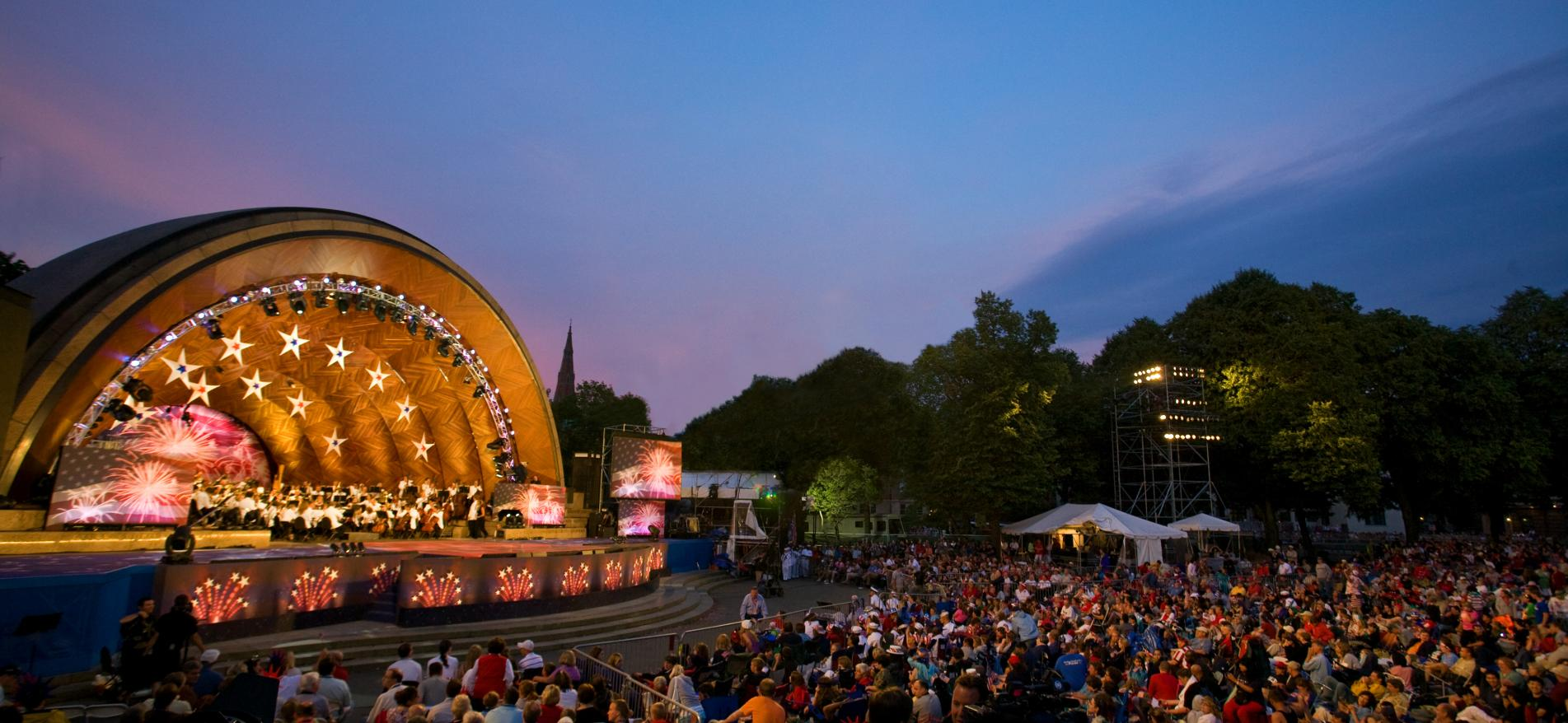 Free Concert At Hatch Shell July 30th >> Fourth Of July In Boston History Performances Fireworks