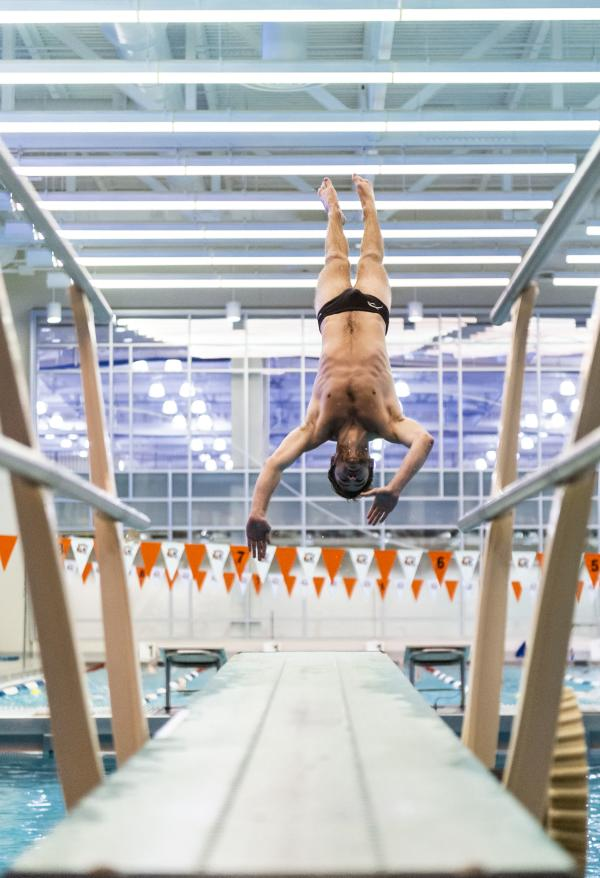 Diving Event at Gordon Field House, RIT