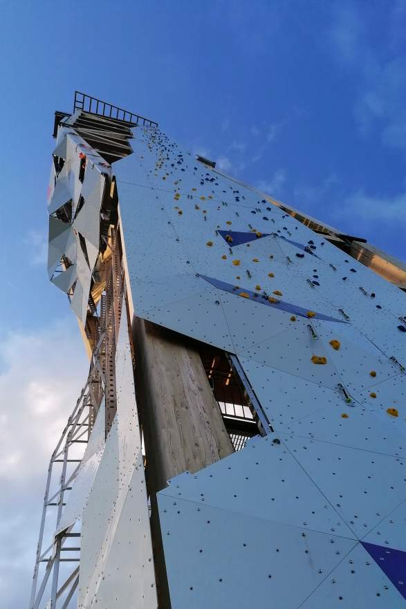 OVER climbing tower in Lillesand