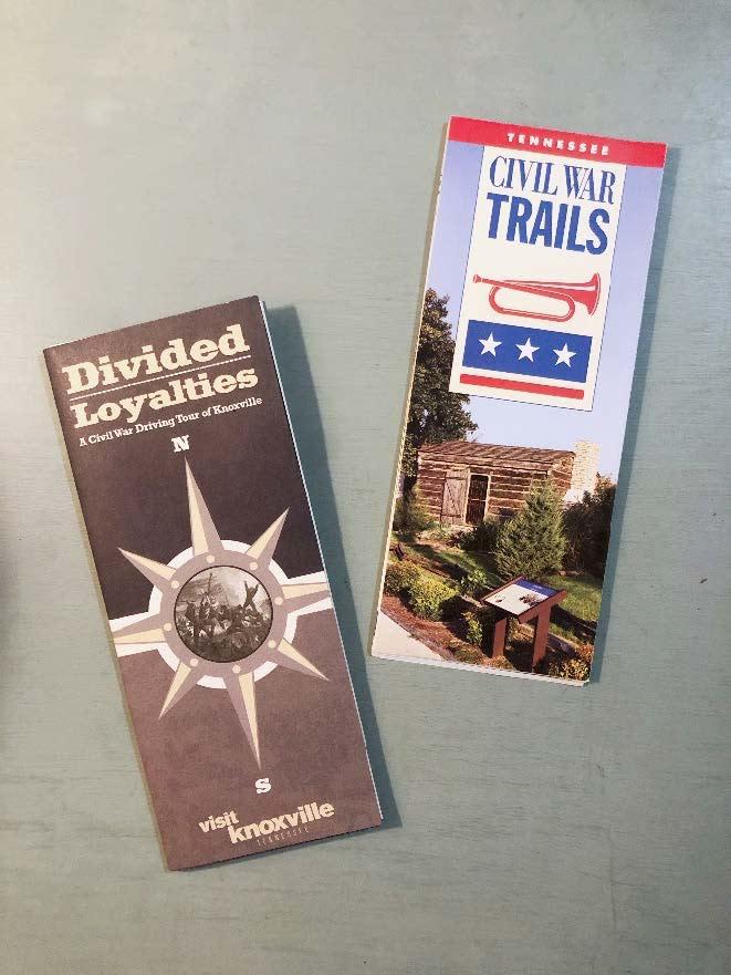 Divided Loyalties Civil War Driving Tour and Civil War Trails Brochures