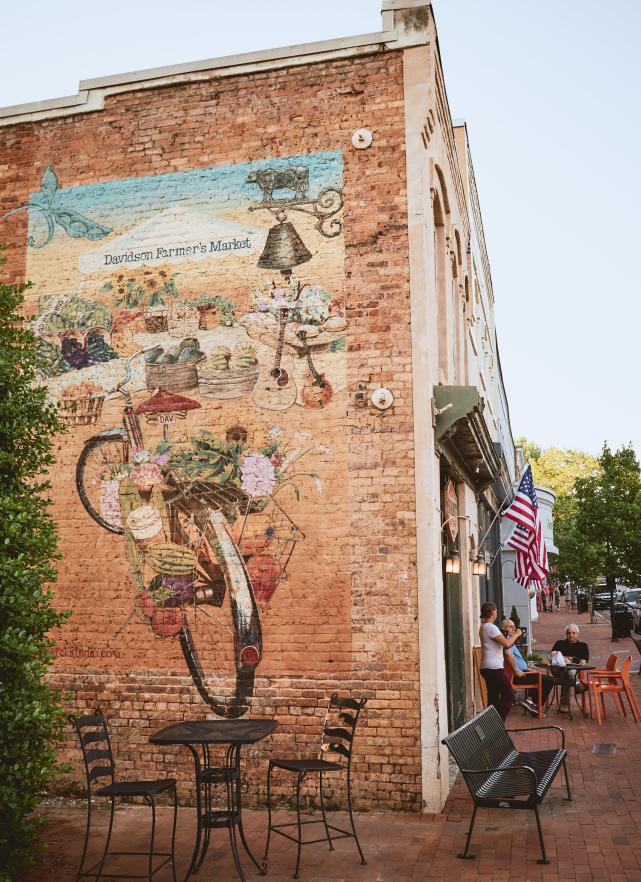 Davidson Farmers market painting