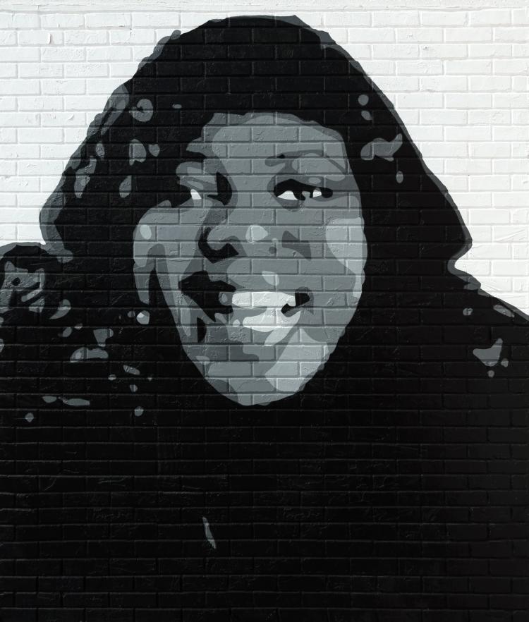 Bessie Smith Mural
