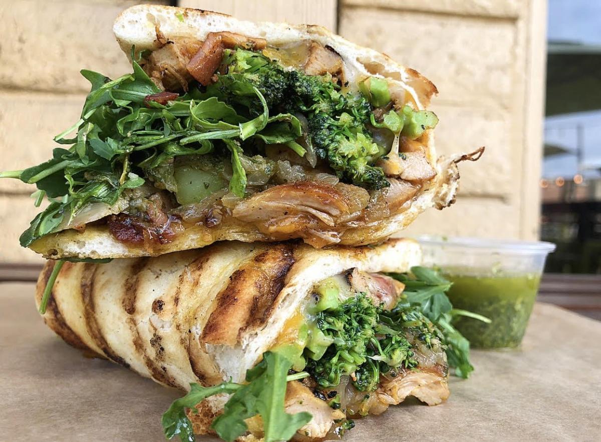 Green Tomato Grill Sandwich