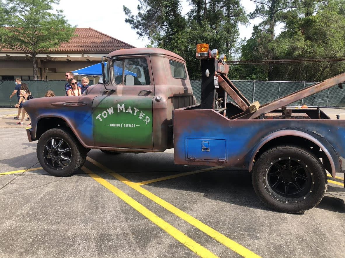 Tow Mater at The Woodlands Children's Museum