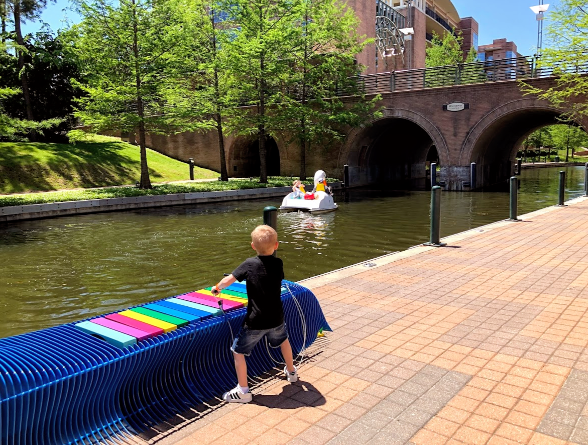 Art Bench: Why Sit When You Can Play