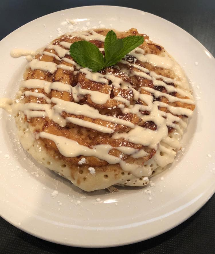 BLD Chandler in Chandler, AZ - Cinnamon Roll Pancakes
