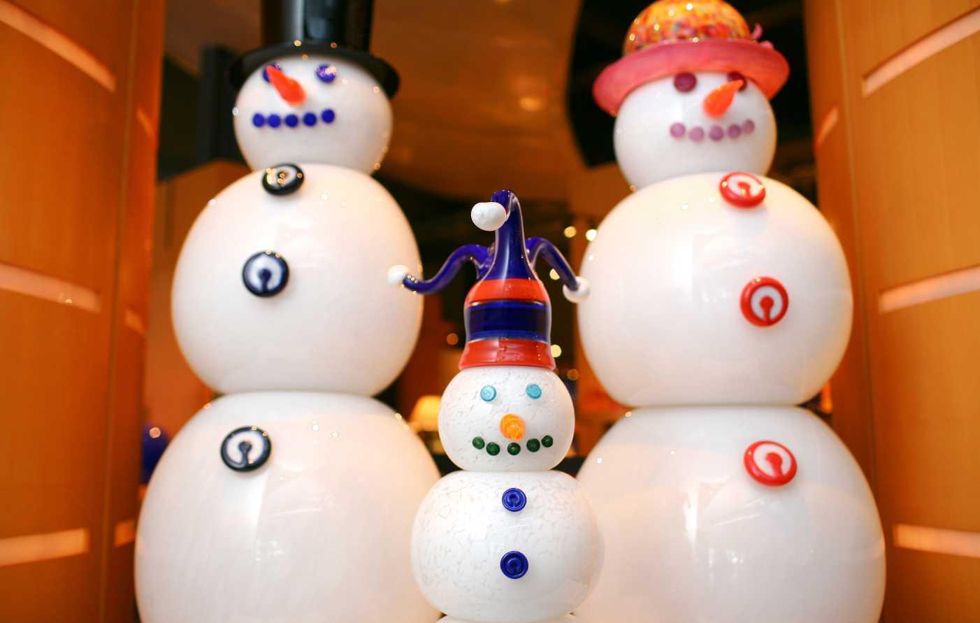 CMOG snowmen