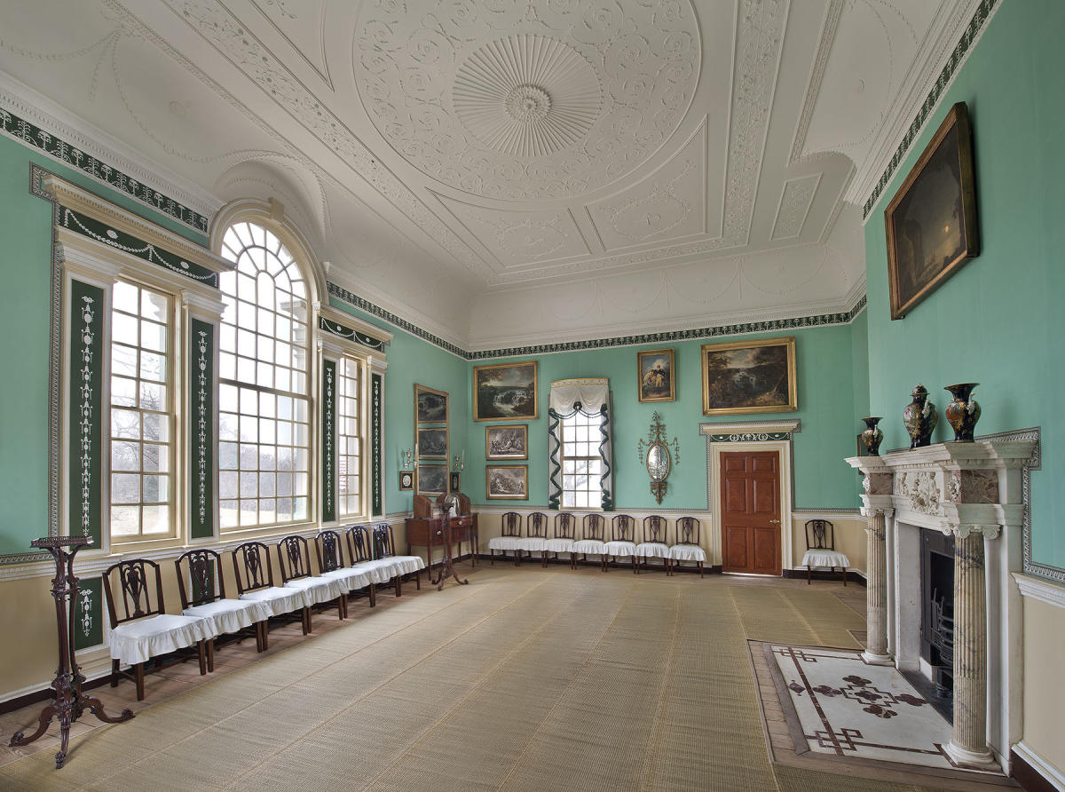 "George Washington's Mount Vernon - ""New Room"""