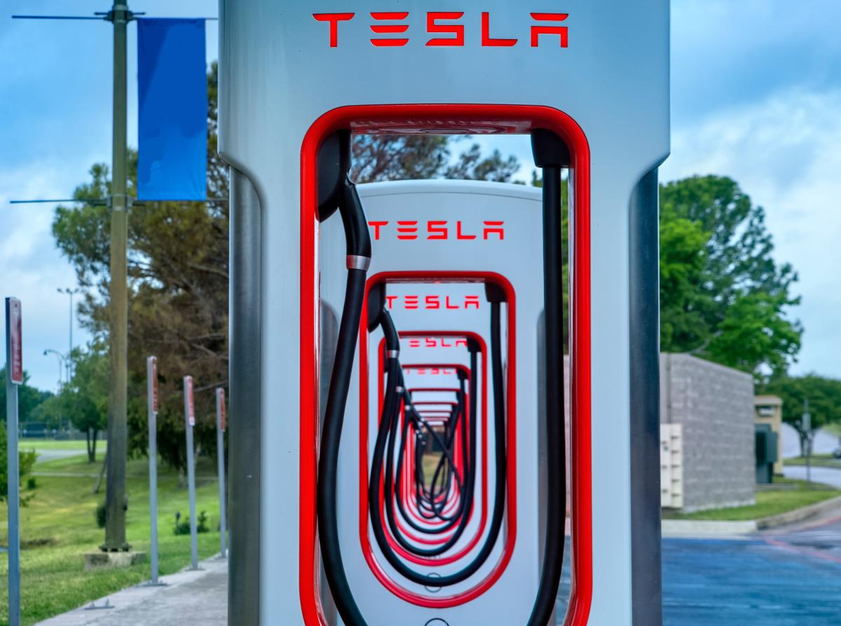 Tesla Supercharger Stations in SLO CAL