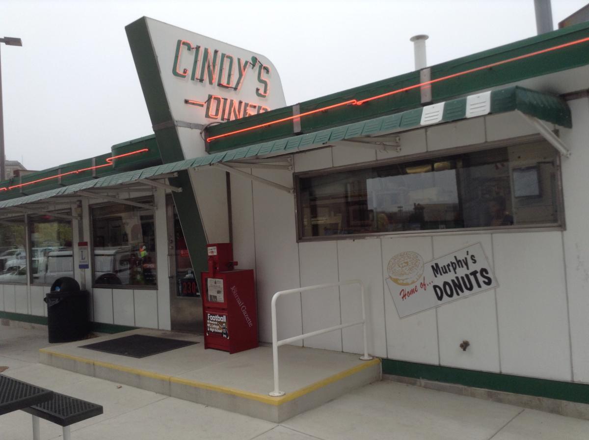 Cindy's Diner Entrance