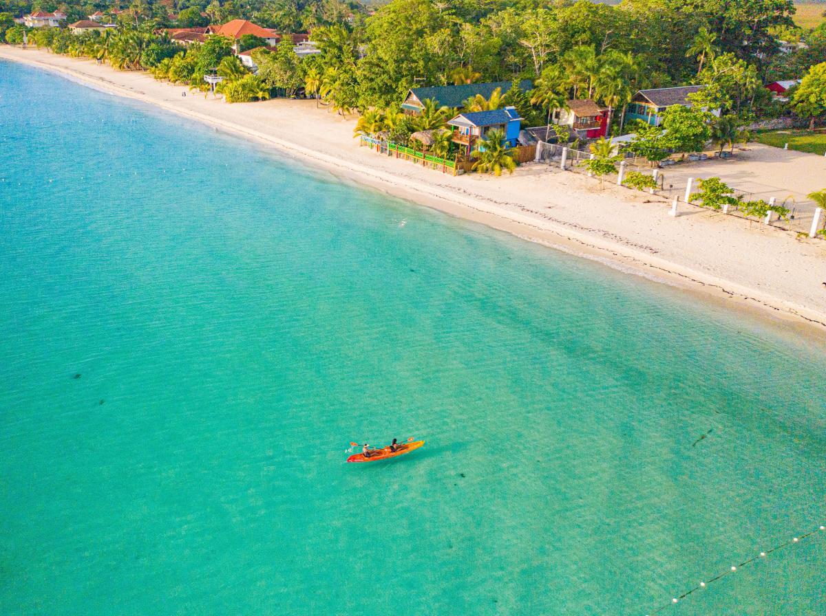 Negril Jamaica Kayak