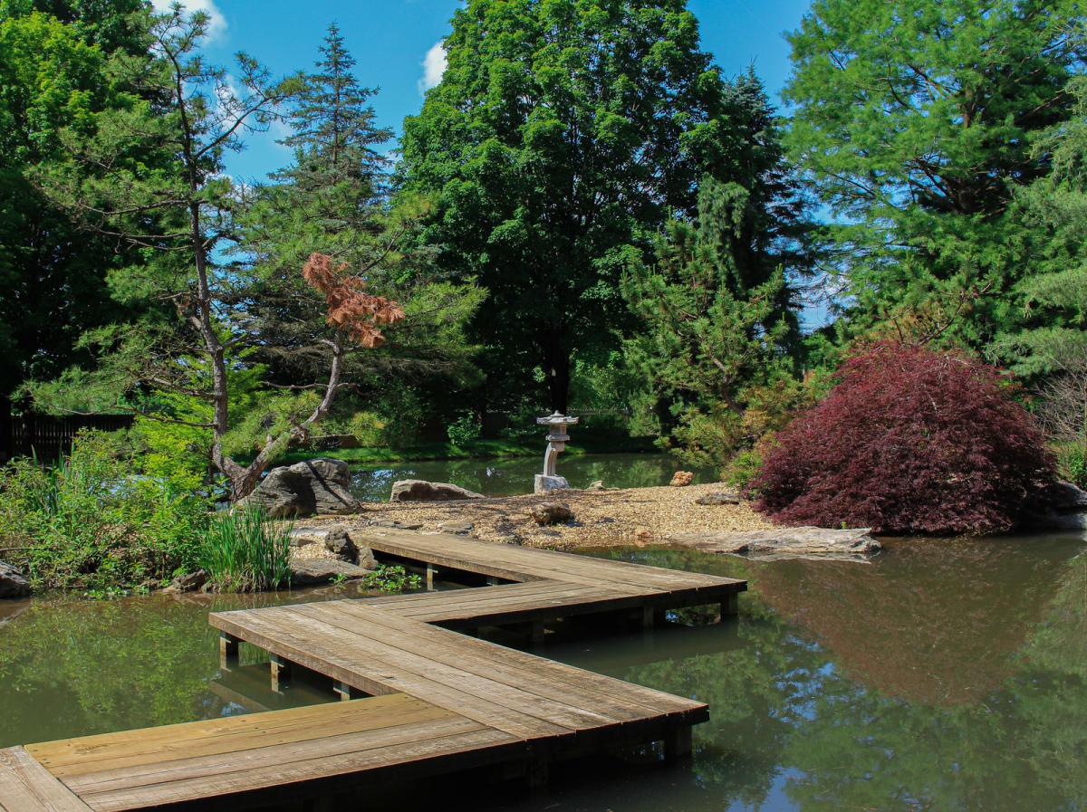 Mizumoto Japanese Stroll Garden in Springfield, Missouri