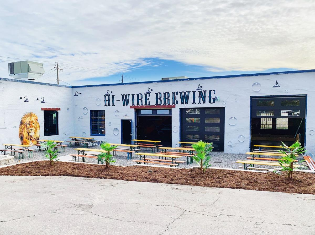 Hi-Wire Brewing Beer Garden