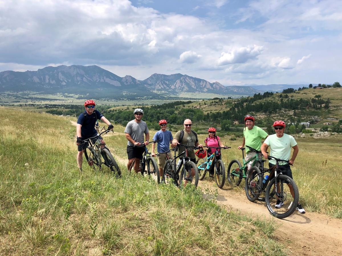 P.E.D.A.L. Group Mountain Bike Riding