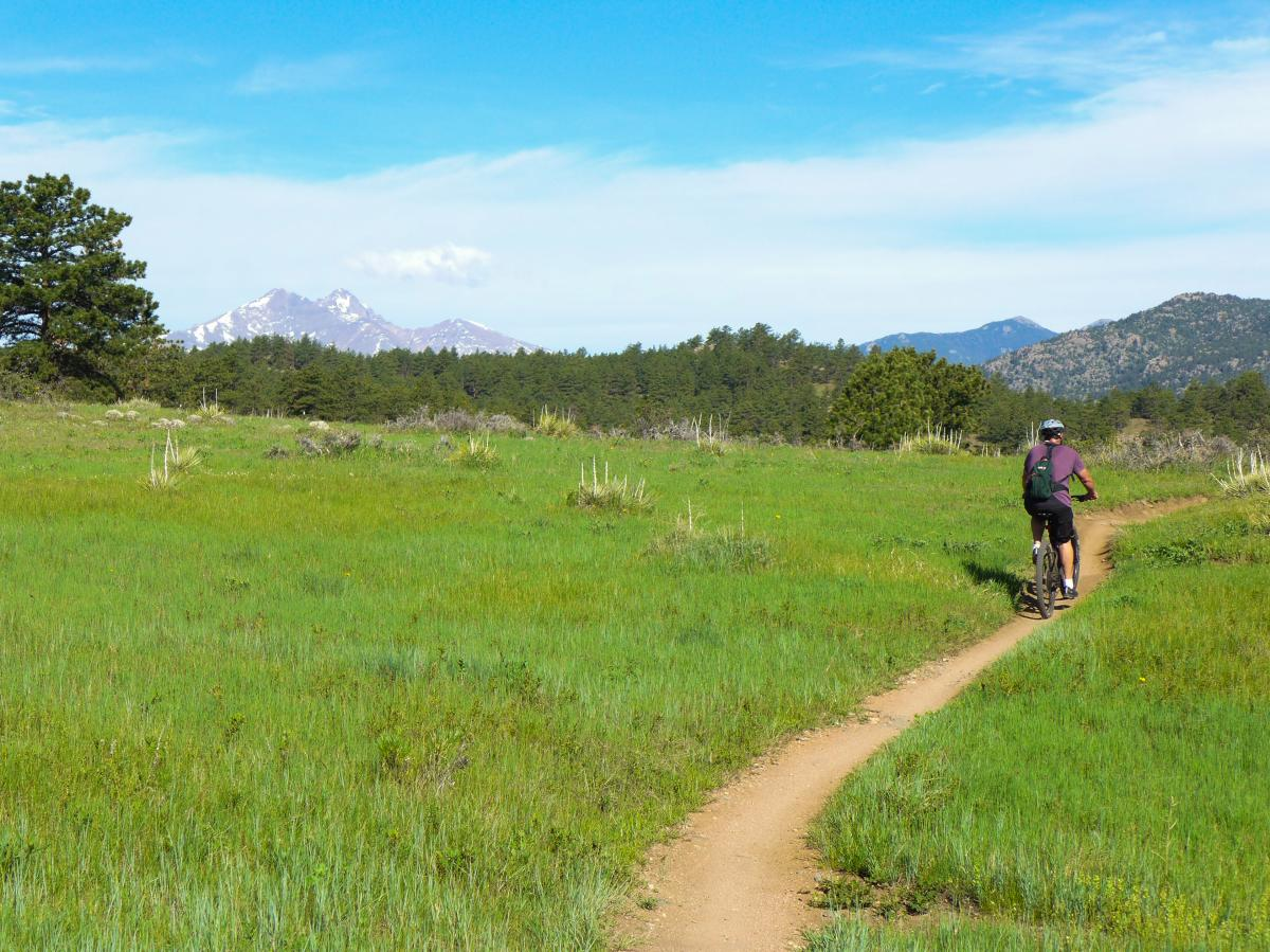 Mountain Biking Boulder Hall Ranch Nelson