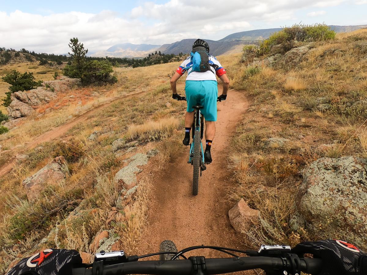 Mountain Biking Boulder Hall Ranch