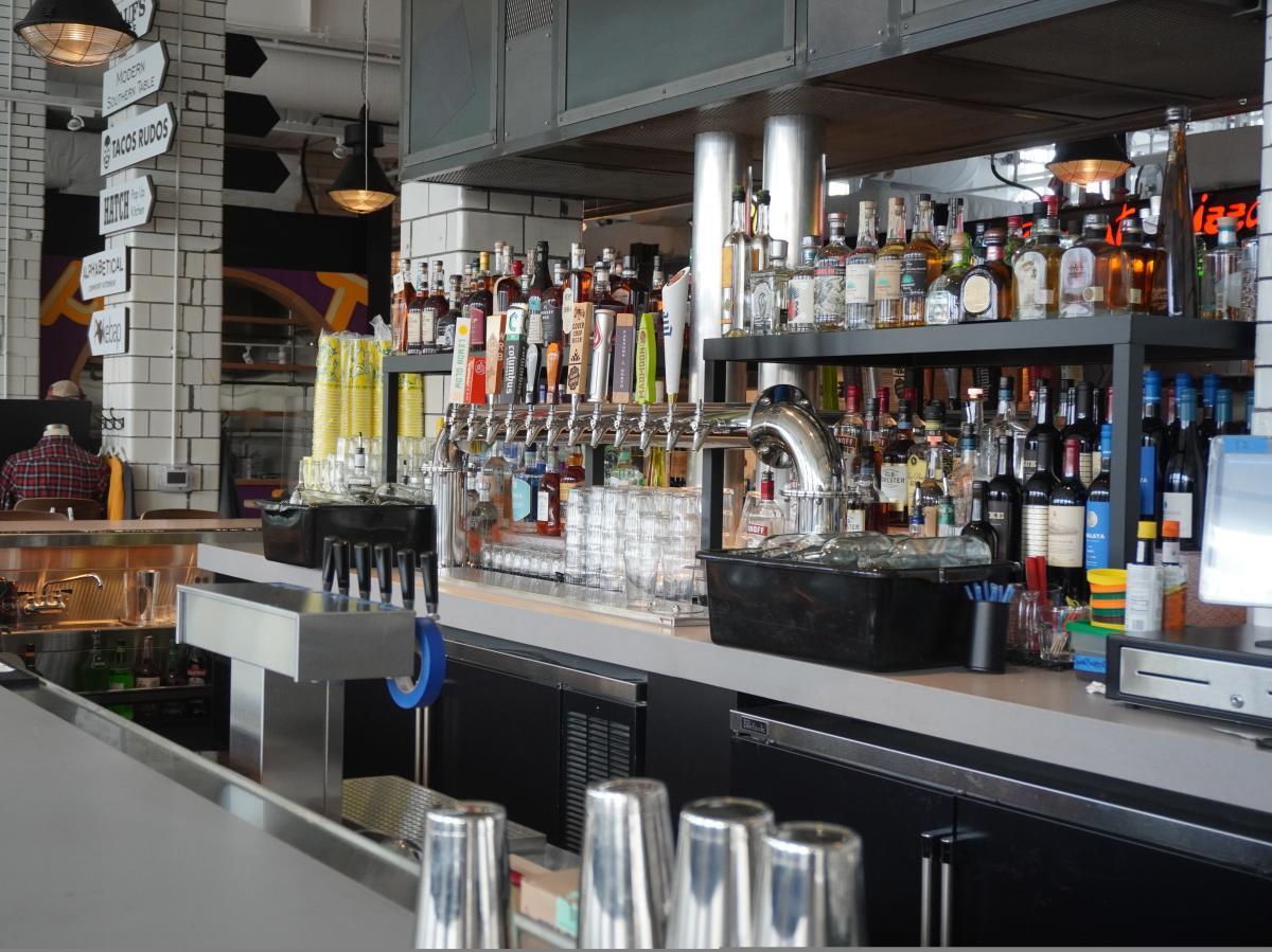 Bar at Budd Dairy Food Hall