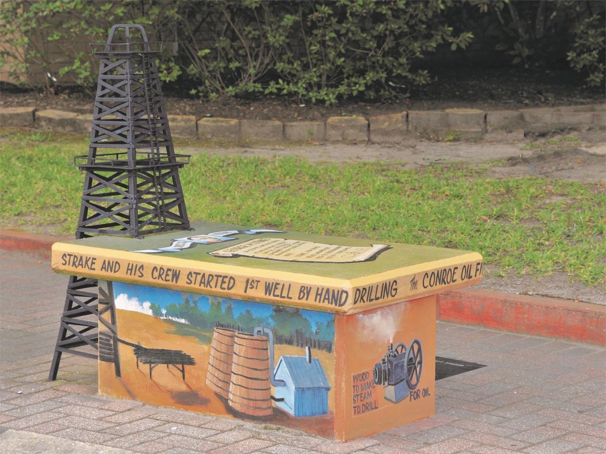 Oil bench