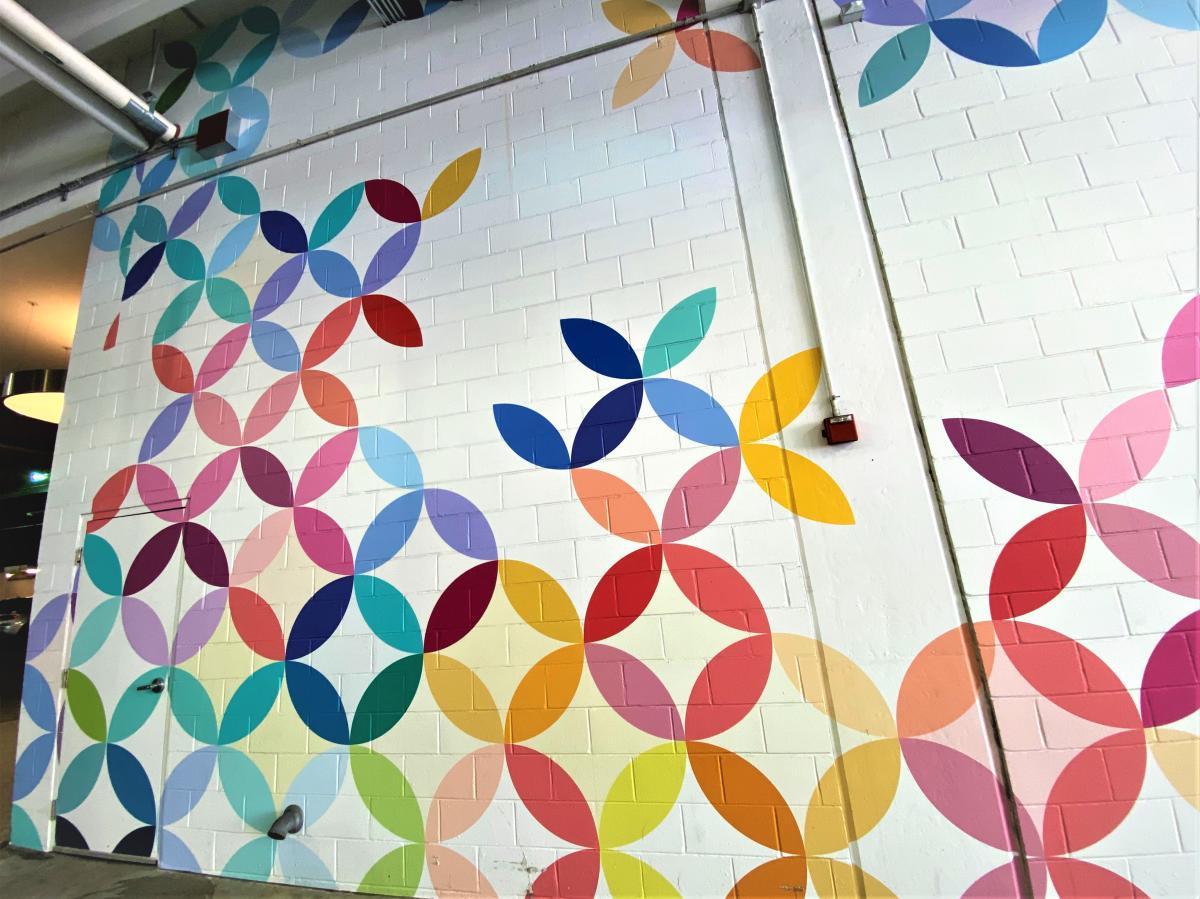 Mosaic Mural Erin Condren