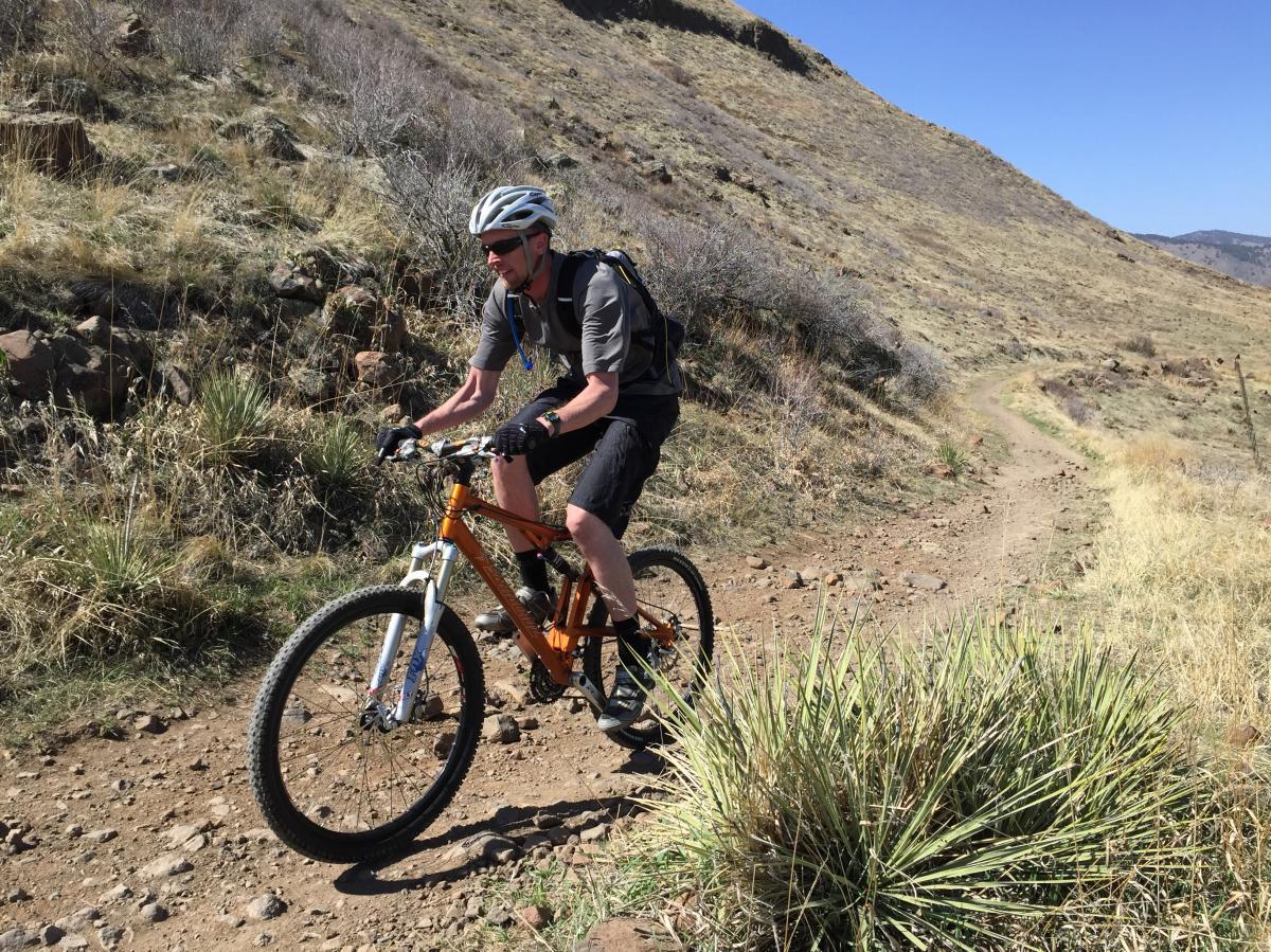 Mountain Biking on NTM