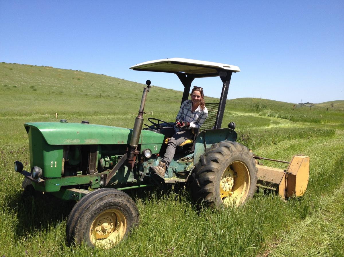 Center for Land-Based Learning Tractor